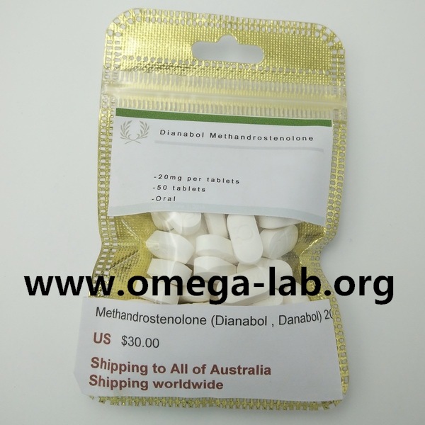 Methandrostenolone (Dianabol) 20mg x 50 tablets * 10 bottles